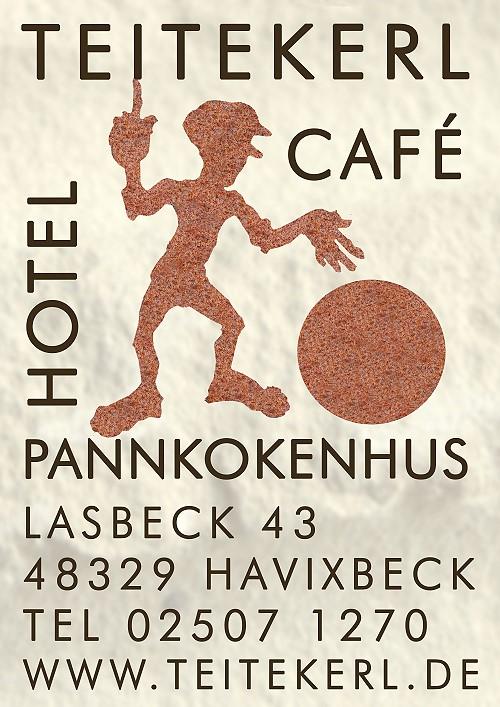 """Das Cafe & Pannkokenhus Teitekerl bietet die gleichen """"Kuchengenüsse"""" die Besucher am Turm genossen  haben und zudem eine große Auswahl an Pannkoken- und Kartoffelgerichten... das werden Sie geniessen! ;-)"""